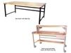 HEAVY-DUTY WORK BENCHES - FULLY ACCESSORIZED WITH WOOD COMP TOP